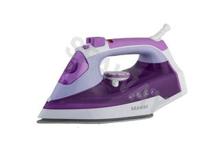SW-301 2600W Soft grip handle Non-stick steam iron