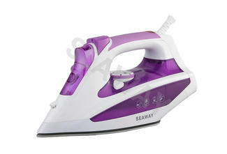 SW-402 Stainless Steel Soft grip handle steam iron